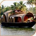 Luxury houseboat cruise on the backwaters
