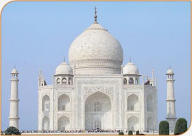 The beautiful Taj Mahal