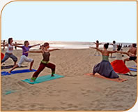 Yoga Beach Image